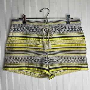 Loft Ann Taylor Embroidered Shorts